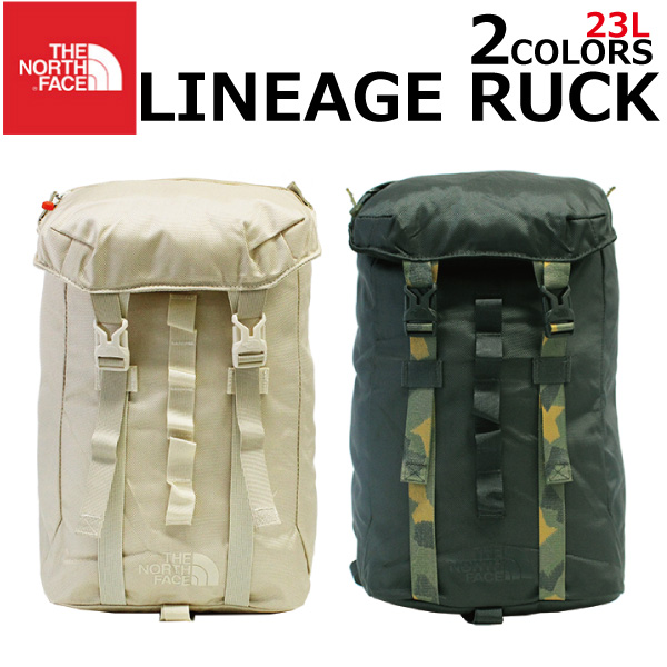 e6e4518d4 Under MAX1000OFF coupon distribution! THE NORTH FACE ザノースフェイス LINEAGE RUCK  re-neige rack rucksack rucksack backpack 23L A3 men gap Dis ...