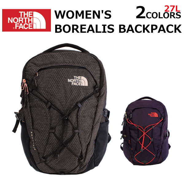 THE NORTH FACE ザ ノースフェイス WOMEN'S BOREALIS BACKPACK ウィメンズ ボレアリス バックパックリュック リュックサック バッグ アウトドア レディース 27L A3プレゼント ギフト 通勤 通学 送料無料