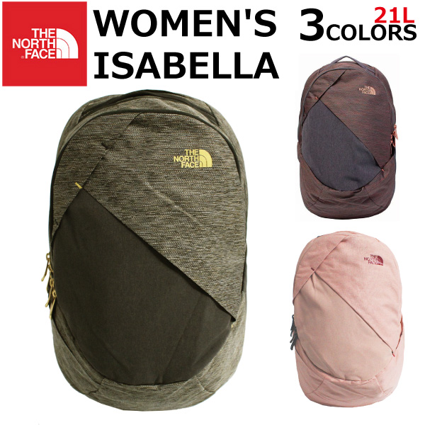 cca6fc5de THE NORTH FACE ザノースフェイス WOMEN' S ISABELLA BACKPACK Isabella backpack  rucksack rucksack bag outdoor Lady's B4 21L W ISABELLA 7DR 5YZ 7DS  multicolored ...