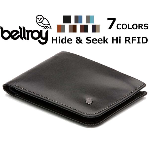 コンパクト Hide カード スリム /& お財布 二つ折り Seek bellroy ベルロイ 財布 レザー 収納