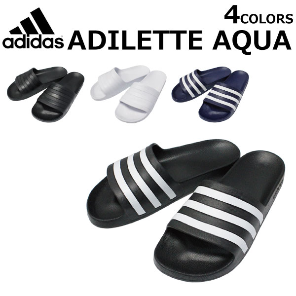 30ba535b0 adidas Adidas ADILETTE AQUA アディレッタアクア SLIDES shoes sports sandals shower  sandals men gap Dis F35550 F35543 F35549 F35542 present ...