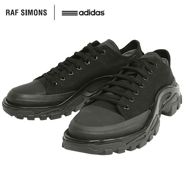 sale retailer 21f05 df376 An ADIDAS BY RAF SIMONS Adidas by rough Simmons RS DETROIT RUNNER Detroit  runner sneakers collaboration B22526 black men present gift goes to ...