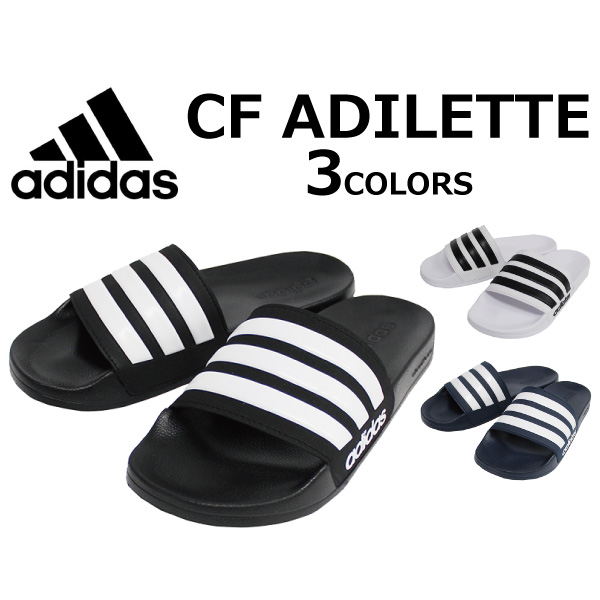 ec366939ed9f43 ADIDAS Adidas CF ADILETTE アディレッタ18ss SLIDES shoes sports sandals shower  sandals men gap Dis unisex present gift goes to work until 2 9 ...