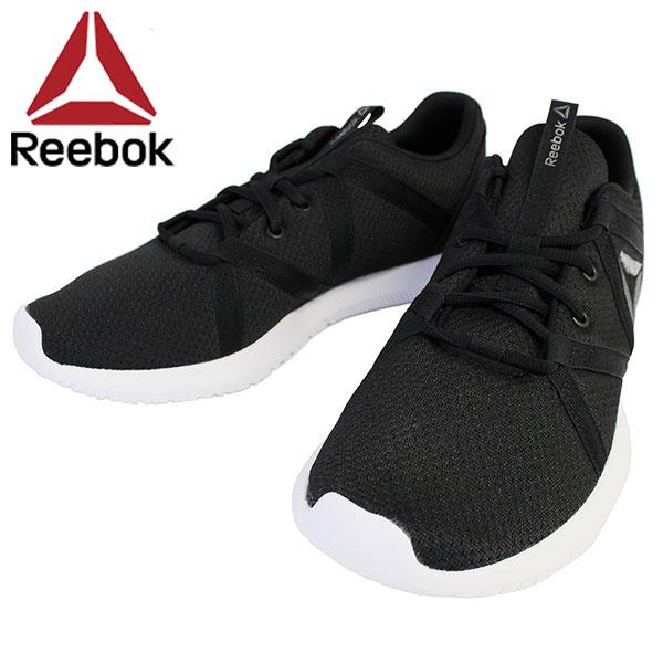 Under NEW YEAR SALE holding! Reebok Reebok REAGO ESSENTIAL MEN re chin essential men sneakers running shoes men CN4624 black present gift commuting