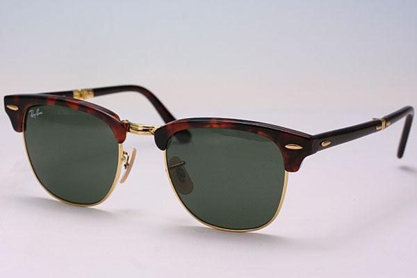 ba5a0c3af12 Ray-Ban Rayban  Ray-Ban sunglasses   folding   men   Lady s RB2176 990 51 FOLDING  CLUBMASTER   folding club master   Havana X gold present   gift ...