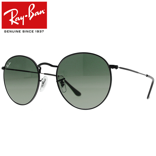 fbd209414a It is point 3 times - up to 17 times in an entry! Ray-Ban Rayban Ray-Ban  ROUND FLAT LENSES round flat lens sunglasses men gap Dis RB3447N 002 71 53  black ...