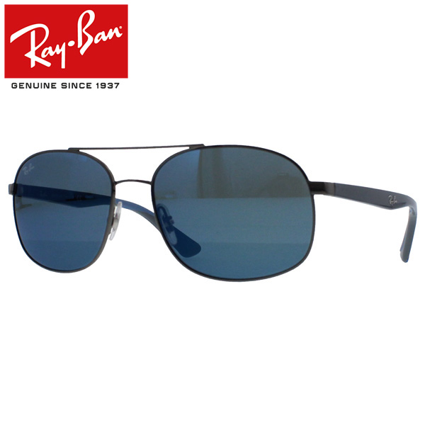 934890dea3 Ray-Ban Rayban Ray-Ban sunglasses square men gap Dis RB3593 004 55 58  gunmetal present gift goes to work until 6 6 9 59 and goes to school