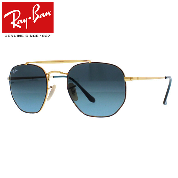 580d9672b9 Ray-Ban Rayban Ray-Ban MARSHAL Marshal sunglasses gradient lens square men  gap Dis RB3648 91023M 51 brown present gift commuting attending school