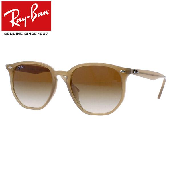 Ray-Ban Rayban レイバン サングラス ヘキサゴナルメンズ レディース RB4306F 616613 54 フルフィットオパール ベージュ プレゼント ギフト 通勤 通学 送料無料