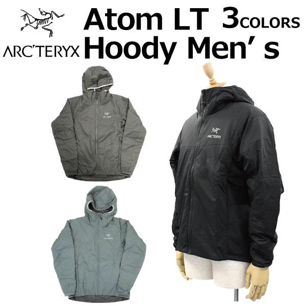 スーパーセールで使えるクーポン配布中!ARCTERYX アークテリクス Atom LT Hoody Men's アトム フーディ メンズ ジャケットパーカー 24477ブラック プレゼント ギフト 父の日 通勤 通学 送料無料