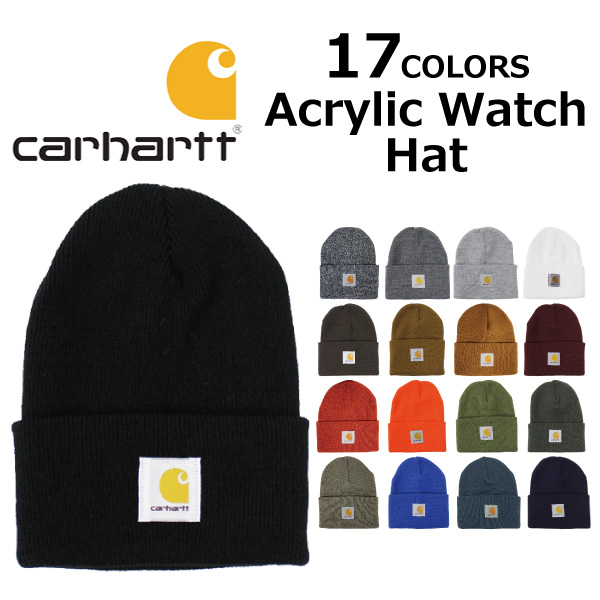 d270091eba1 Under Heisei SALE holding! CARHARTT car heart Acrylic Watch Hat acrylic  watch hat knit hat ...