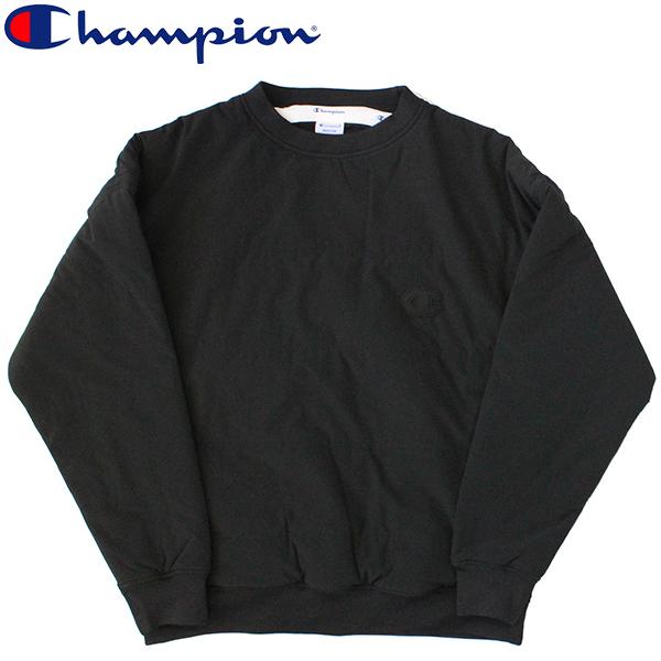 スーパーセールで使えるクーポン配布中!Champion チャンピオン アクションスタイル Pullover Jacket プルオーバージャケットトレーナー シャツ メンズ ロゴ刺繍 ワンポイント C3-Q609 ブラックプレゼント ギフト 父の日 通勤 通学