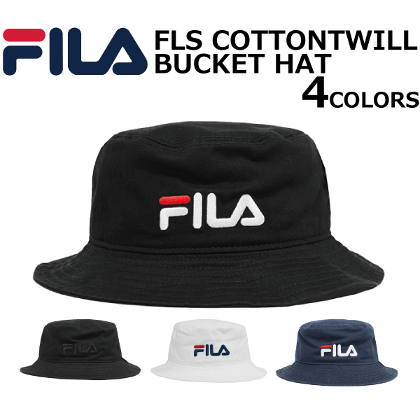 52d945eac Under summer sale holding! FILA Fila FLS COTTONTWILL BUCKET HAT cotton  twill pail hat hat men gap Dis 100-113,311 present gift goes to work to  6/11 ...