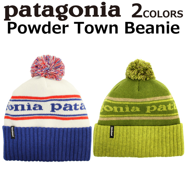 5dd004bb192 Under Heisei SALE holding! patagonia Patagonia Powder Town Beanie powder  town beanie knit hat knit ...