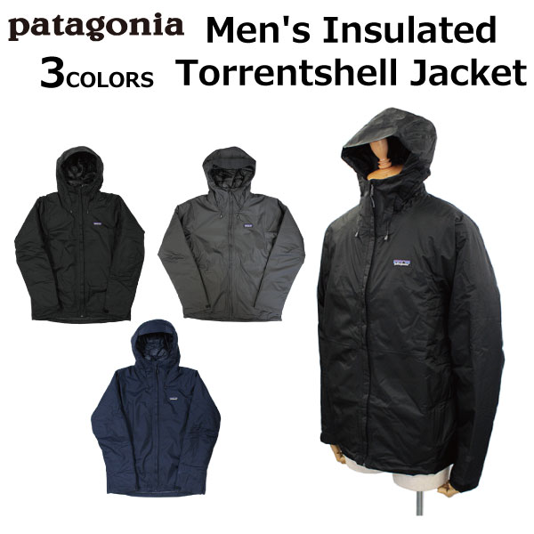 patagonia パタゴニア Men's Insulated Torrentshell Jacket メンズ インサレーテッド トレントシェル ジャケットマウンテンパーカー アウター ブルゾン 長袖 アウトドア メンズ レディース 83716プレゼント ギフト 父の日 通勤 通学 送料無料