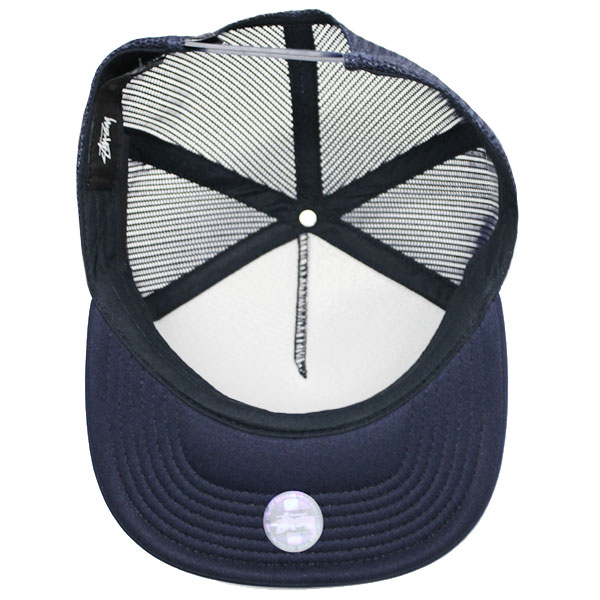 e34956a285d STUSSY ステューシー PUFF PRINT STOCK TRUCKER CAP puff print stock trucker cap  131703 hat snapback men gap Dis present gift goes to work and goes to school