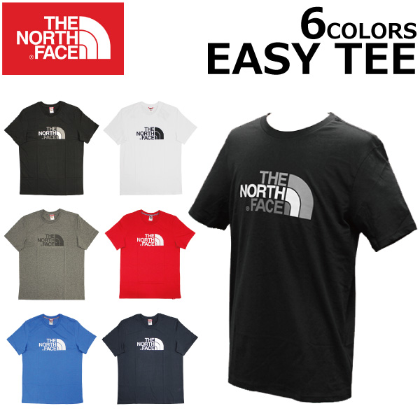855a2b402 Under MAX1000OFF coupon distribution! A THE NORTH FACE ザノースフェイス EASY TEE  easy tea T-shirt cut-and-sew short sleeves logo print men ...