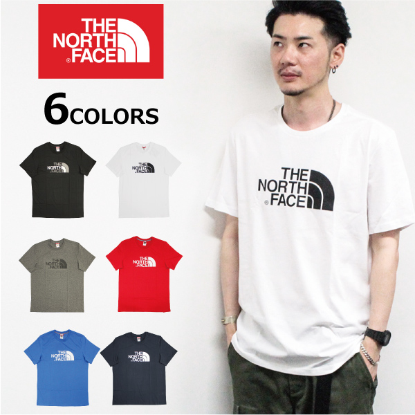 <title>プレゼント ギフト ラッピング あす楽 THE NORTH FACE ザ ノースフェイス EASY TEE イージー 好評受付中 ティーTシャツ カットソー 半袖 ロゴ プリント メンズプレゼント 通勤 通学</title>