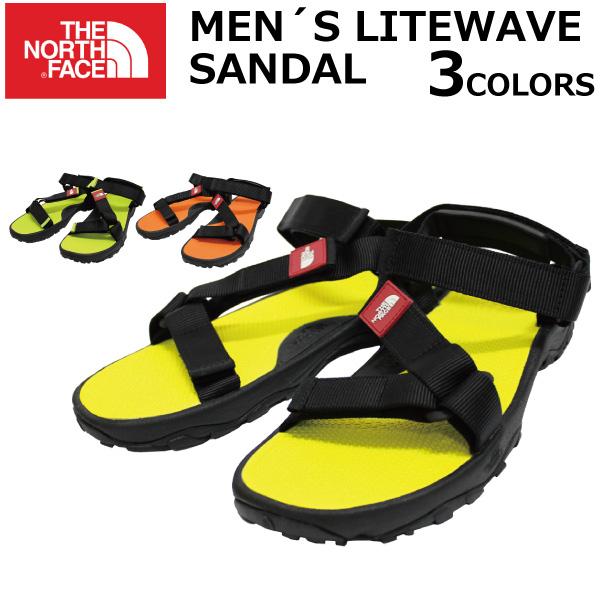 e74ab5171 Under MAX1000OFF coupon distribution! A THE NORTH FACE ザノースフェイス MEN'S  LITEWAVE SANDAL men light wave sandals sports sandal present ...