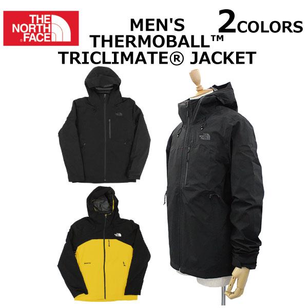 スーパーセールで使えるクーポン配布中!THE NORTH FACE ザ ノースフェイス Men's Thermoball Triclimate Jacket メンズ サーモボール トリクライメイト ジャケット長袖 ロゴ プリント メンズ プレゼント ギフト 父の日 通勤 通学 送料無料