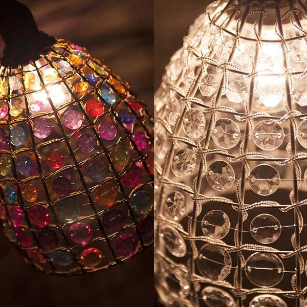 シャンデリア シーリングランプ ヨーロッパ風 ビーズシャンデリア 北欧 シャンデリア照明 シーリング照明 アンティーク【P20Aug16】