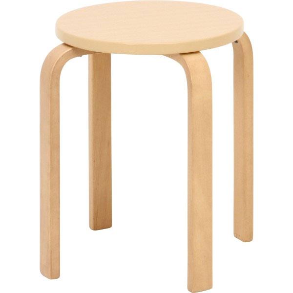 木製スツール 木製 奉呈 曲脚 イス 木製椅子 スツール チェアー 椅子 いす ウッド 6脚セット シンプル OUTLET SALE 木製曲脚イス ナチュラル 丸イス アジアン家具 腰掛け