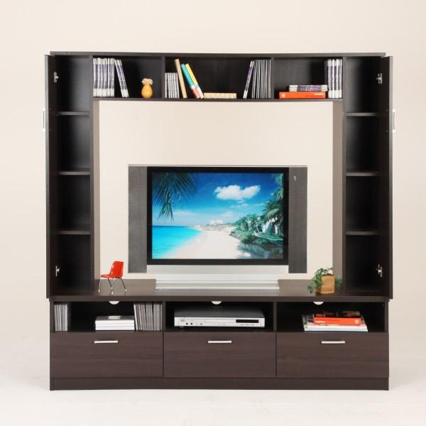【テレビ台♪】TVボード エンターテイメントボード 収納付き薄型テレビ用】 リビング収納 AV機器 メディア収納 CD DVD収納