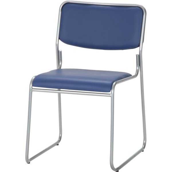 【オフィス】ミーティングチェアー 会議 会議用椅子 ブルー イス 会議椅子 会議用椅子 事務椅子 カフェ 【オフィスチェア/事務椅子/会議用イス】