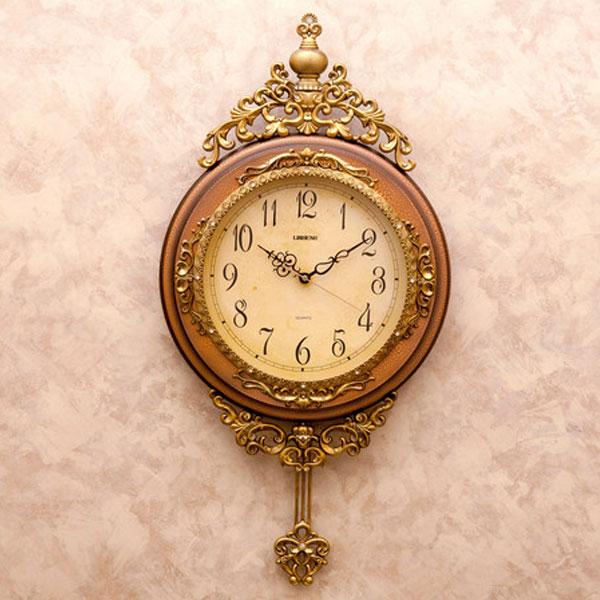 【アンティーク風 掛け時計】ビクトリアンパレス ペンドゥラムクロック アンティークウォールクロック デザインウォールクロック アンティーク時計 掛け時計 時計 とけい クロック アンティーク調 北欧風 02P03Dec16