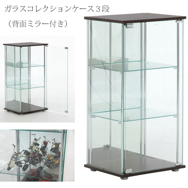 Glass Case Display Rack Shelf Bookshelf Collection Storage Vampirsphigear Box Figures Decorative Galassea