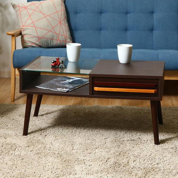 ガラスディスプレイテーブル リビングテーブル コレクションテーブル ローテーブル リビングテーブル ディスプレイテーブル デスク 天然木 おしゃれ 北欧