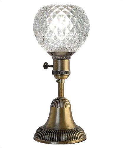 E26 商品 60Wまで 電球別売り テーブルライト ランプベース+5インチアンティーク調 テーブルランプ 取寄 レトロ おしゃれ ガラスシェード 配送員設置送料無料