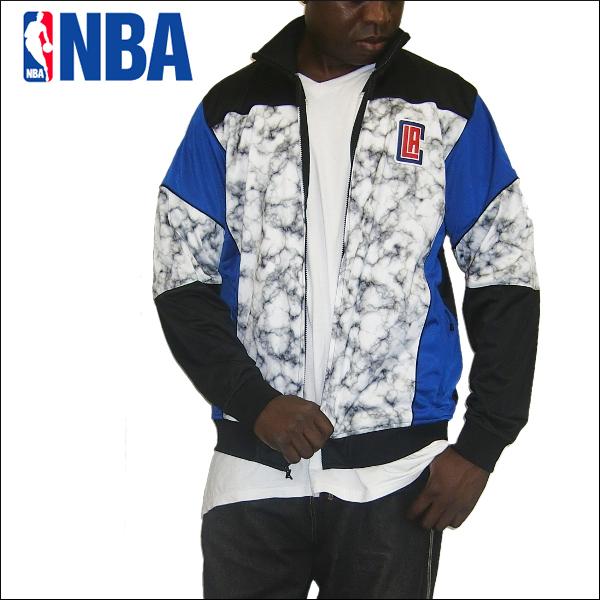 ZIPWAY LA CLIPPERS NBA WARM UP JACKET(ロスアンゼルスクリパース)ウィンドブレーカー ジャケット ナイロン ジャケット ジャケットウオームアップ ジャケットジャンパー nba バスケットボール ユニホーム メンズ 大きいサイズ ジャージ LL 2L 3L 4L 5L