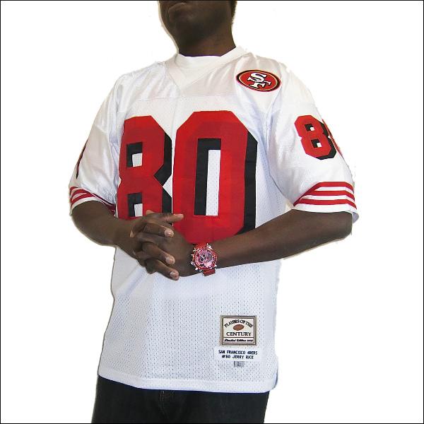 SAN FRANCISCO 49ERS replica フットボールシャツ #80【JERRY RICE】nfl グッズ ヒップホップ衣装 ダンス 衣装 大きいサイズメンズ 大きいサイズTシャツ メンズTシャツ ゲームシャツ メッシュ 半袖