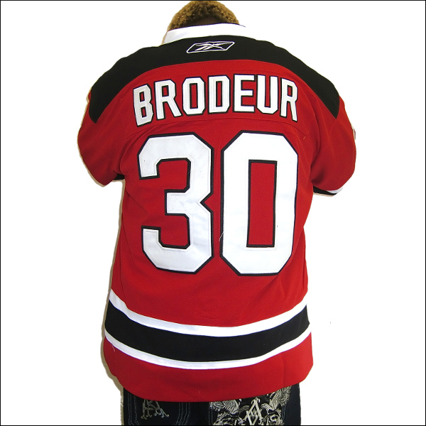 NEW JERSEY DEVILS  replica  アイスホッケーシャツ #30【MARTIN BRODEUR】hockey jersey アイスホッケー ゲームシャツ 大きいサイズメンズ メンズ大きいTシャツ ヒップホップ衣装 ダンス 衣装 ジャージ