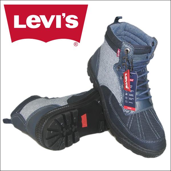 あす楽 Levi's DAYTON DENIM men's bootリーバイス メンズ ブーツ・シューズ・靴 スニーカー【デートンデニム】[517610]25~29cm 大きいサイズブーツ 大きい靴 リーバイス ストリート ファッション ハイカット 送料無料 メンズ大きいブーツ