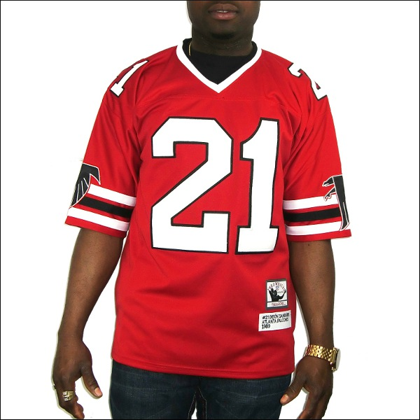 (全3色)ATLANTA FALCONS replica  フットボールシャツ/ #21【DEION SANDERS】