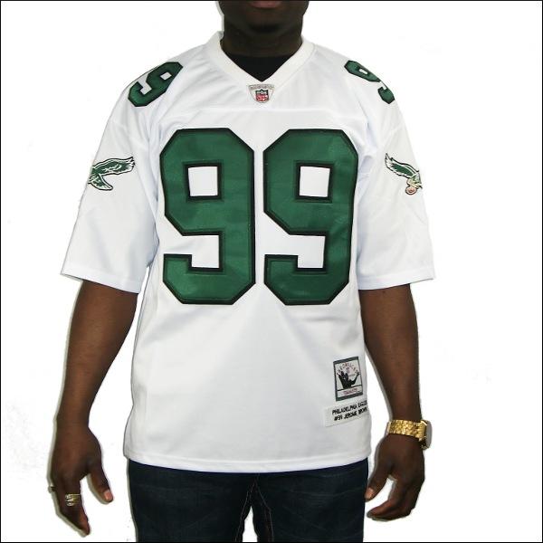 (全2色)PHILADELPHIA EAGLES replica  フットボールシャツ/ #99【JEROME BROWN】