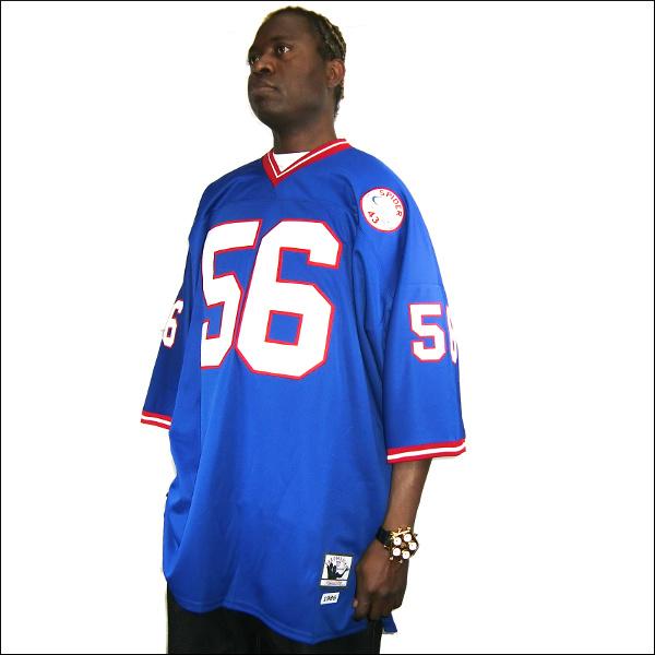 《全2色》NEW YORK GIANTS【ニューヨークジャイエント】 replica jersey/uniform nfl グッズ フットボールシャツ/ #56【TAYLOR SPIDER】