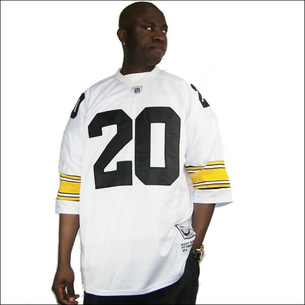 全2色 PITTSBURGH STEELERS replica  フットボールシャツ/nfl グッズ #20【ROCKY BLEIER】