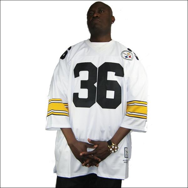 全2色 PITTSBURGH STEELERS replica  フットボールシャツ/nfl グッズ #36【JEROME BETTIS】