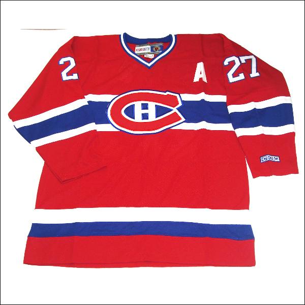 MONTREAL CANADIENS (モントレルカネディエンス) replica  アイスホッケーシャツ #27【KOVALEV】hockey jersey アイスホッケー ゲームシャツ 大きいサイズメンズ メンズ大きいTシャツ ヒップホップ衣装 ダンス 衣装 ジャージ