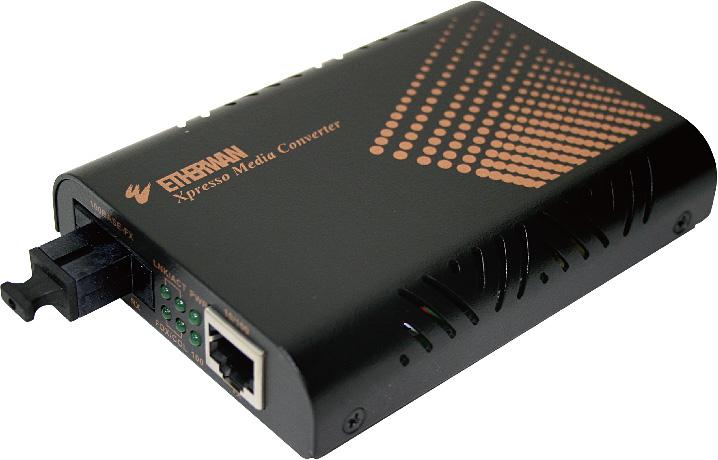 【送料無料:ハイテクインター公式オンラインストア】EL200シリーズ[EL200CA-2](SC1芯 / 2km)簡単光メディアコンバータ
