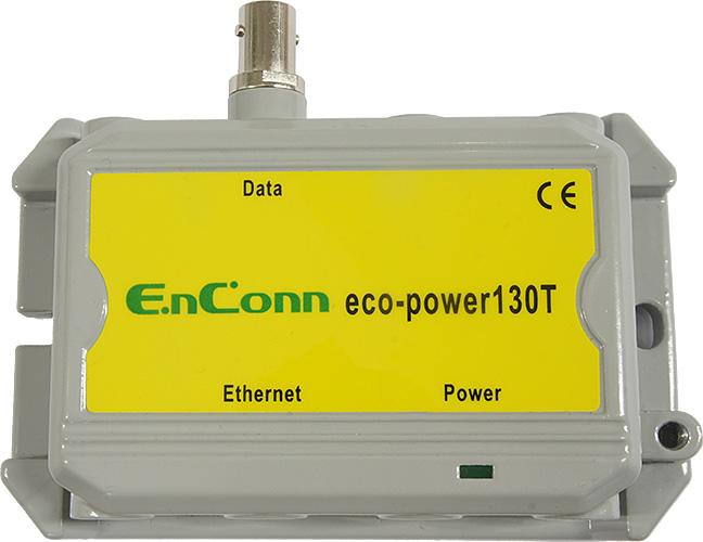 【送料無料:ハイテクインター公式オンラインストア】eco-power130T(同軸ケーブルでPoE(+)延長)