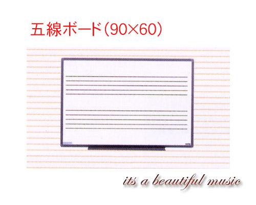 【its】ピアノ教室の必需品!五線ボード nwe EL-3W(90×60/壁掛タイプ)