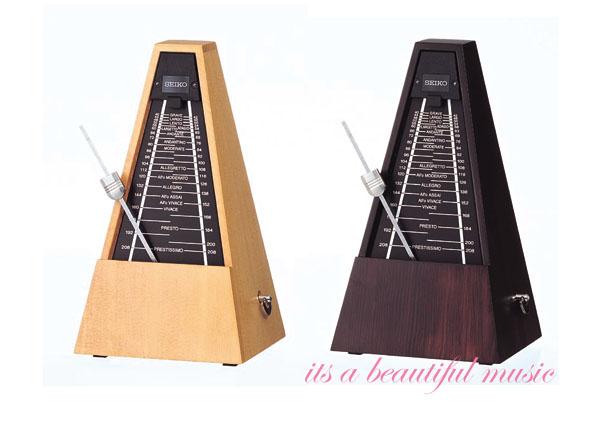 【its】セイコー木製メトロノーム SEIKO WPM1000(WPM-1000)2色より