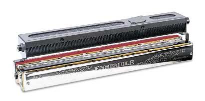 【its】「ハーモニカ本体に固定するタイプのバランスのいいマイクです。」 ダブルバスハーモニカSCH-24用マイク HMC-4