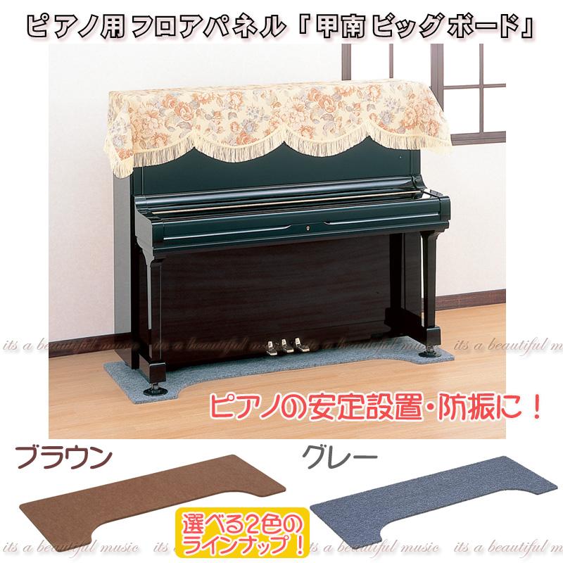【its】161×65cm(奥行65cm/Mサイズ×2カラー)床補強・ピアノの安定設置に!ペダルボード付も選べるアンダーパネル 甲南・ビッグボード【ノーマル仕様】