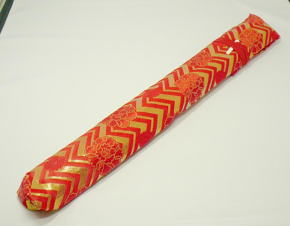 【its】#437 いっぱい集めました!篠笛のお供に!便利な2本入りタイプの篠笛袋 ※四本調子くらいまで対応