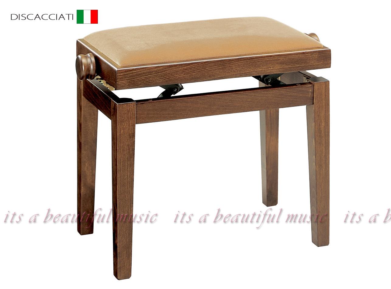 【its】高級輸入ピアノ椅子・イタリアディスカチャーチ社No.105(木目)
